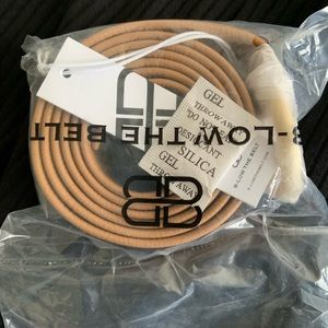B-Low the Belt Tan with Gold Buckle